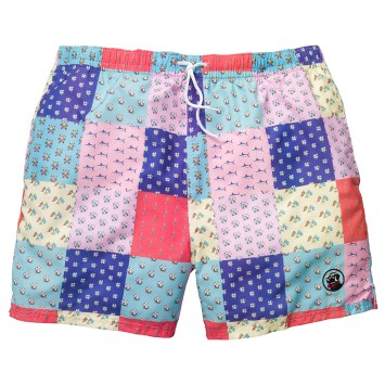 Patchwork Swim